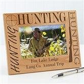 Big Hunter Personalized Frame- 4 x 6 - 3874