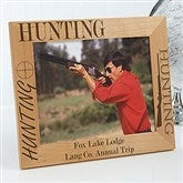 Big Hunter Personalized Frame- 8x10 - 3874-L