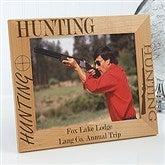 Big Hunter Personalized Frame- 8 x 10 - 3874-L