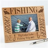 Fishing Pro Personalized Frame- 4 x 6 - 3875