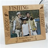 Fishing Pro Personalized Frame- 8 x 10 - 3875-L