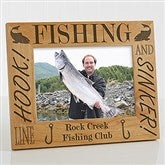 Fishing Pro Personalized Frame- 5 x 7 - 3875-M