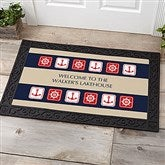 Ahoy! Nautical Personalized Doormat- 20x35 - 3910-M