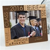 Dream & Believe© Personalized Picture Frame- 8 x 10 - 4000-L
