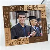 Dream & Believe Personalized Picture Frame- 8 x 10 - 4000-L