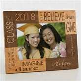 Dream & Believe Personalized Picture Frame- 5 x 7 - 4000-M