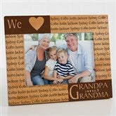 Our Loving Hearts Holiday Personalized Frame- 5 x 7 - 4123-M