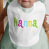 Kid's Personalized Name©- Infant Bib - 4165-B