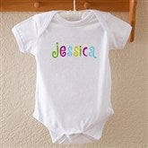 Kid's Personalized Name Baby Bodysuit - 4165-BB