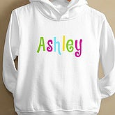 Kid's Personalized Name©- Toddler Hooded Sweatshirt - 4165-THS