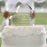 Love Is Patient© Personalized Cake Topper - 4194