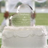 Love Is Patient Personalized Cake Topper - 4194