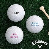 You Name It Golf Ball Set - Callaway® Warbird Plus - 4196-CW