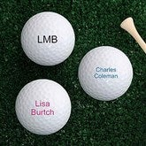 You Name It Golf Ball Set - Non Branded - 4196-B