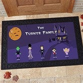 Halloween Character Collection Doormat- 20x35 - 4204-M
