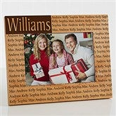 Family is Forever Personalized Frame - 5 x 7 - 4219-M