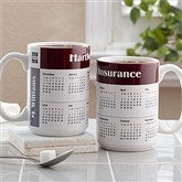 You Design It Calendar Coffee Mug- 15 oz. - 4245-L