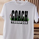 Baseball Coach© Adult T-Shirt - 4261T