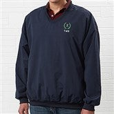 Golfer's Navy Wind Shirt - Golf Crest - 4266-GC