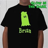 Glow-in-the-Dark Ghost- Youth T-Shirt - 4284-T