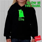 Glow-in-the-Dark Ghost- Hooded Sweatshirt - 4284-S