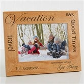 Vacation Memories Personalized Frame - 5 x 7 - 4519-M