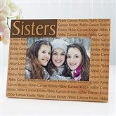 You Name It Personalized Frame- 4 x 6 - 4522-S