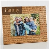 You Name It Personalized Frame- 5 x 7 - 4522-M