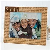 Family is Forever Personalized Picture Frame- 8x10 - 4523-L