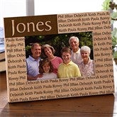 Family is Forever Personalized Picture Frame - 4x6 - 4523