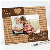 Our Loving Hearts Personalized Frame- 4 x 6 - 4524
