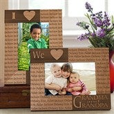 Our Loving Hearts Personalized Frame--4 x 6 - 4524