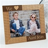 Our Loving Hearts Personalized Frame- 8 x 10 - 4524-L