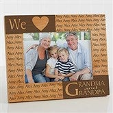Our Loving Hearts Personalized Frame- 5 x 7 - 4524-M