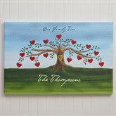 Our Family Tree Canvas Print - 12
