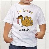 I'm Stuffed Personalized Toddler T-Shirt - 4558-TT