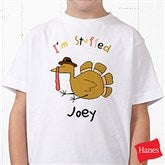 I'm Stuffed Personalized Hanes® Youth T-Shirt - 4558YCT