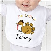I'm Stuffed Personalized Bib - 4558-B