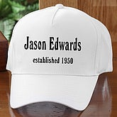 Established Birthday Adult Baseball Cap - 4611-AC
