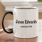 Established Birthday Coffee Mug - 4611-CM