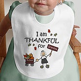 I Am Thankful© Infant Bib - 4624B