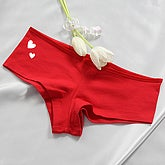 Future Mrs... Ladies Red Shorties - 4649-S