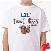 Lil Tool Guy© White Youth T-Shirt - 4702-YWT
