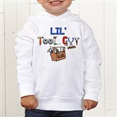 Lil Tool Guy Colored Toddler Sweatshirt - 4702-CTHS