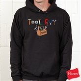 Tool Guy Adult Black Sweatshirt - 4702-ABS