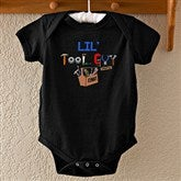 Lil Tool Guy Black Baby Bodysuit - 4702-IBT