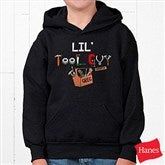Lil Tool Guy© Youth Black Sweatshirt - 4702-YBS