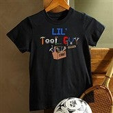 Lil Tool Guy© Black Youth T-Shirt - 4702-YBT