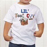 Lil Tool Guy Personalized Toddler T-Shirt - 4702-TT