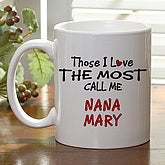 Those I Love The Most Coffee Mug- 11 oz. - 4746-C